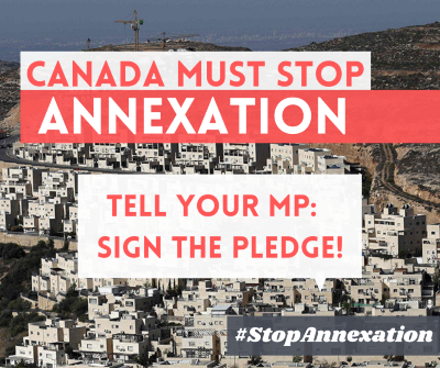 Canada Must Stop Annexation