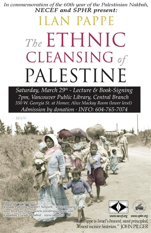 Ilan Pappe: The Ethnic Cleansing of Palestine