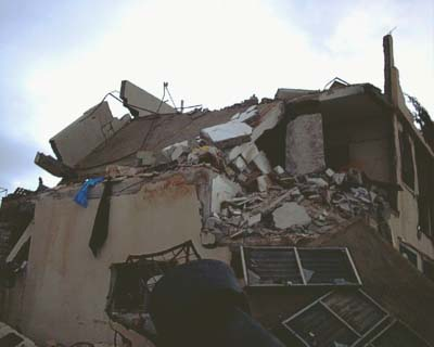 The home demolition we witnessed in Jama'in