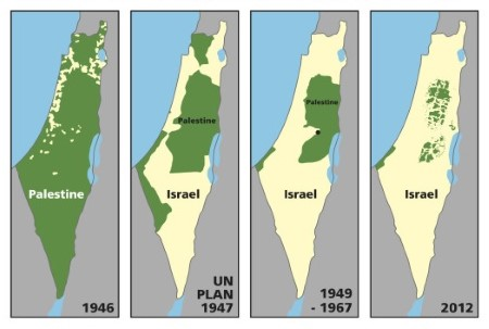 Maps of Disappearing Palestine